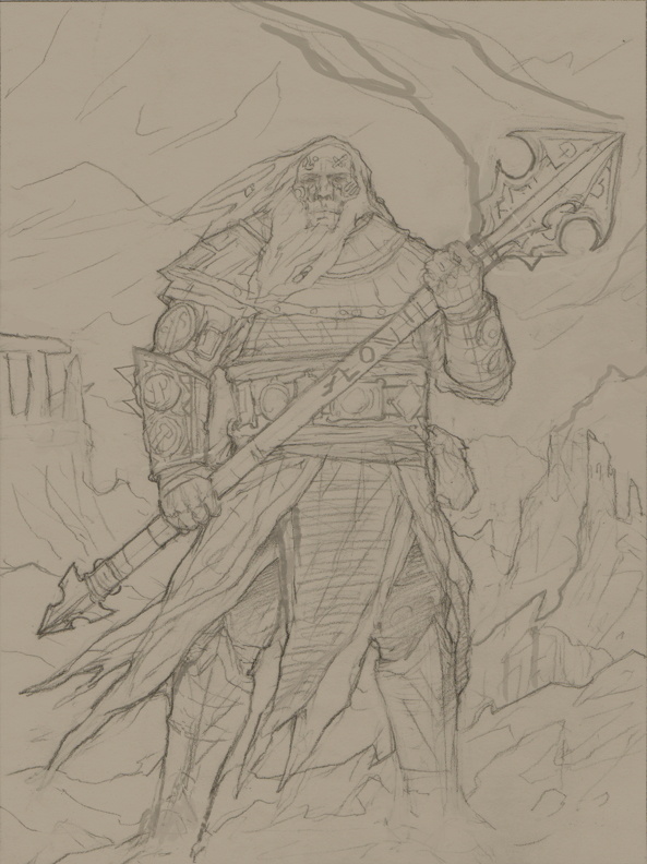 Forgeborn Drawing